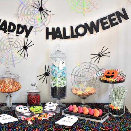 Halloween Mini Sweets Display