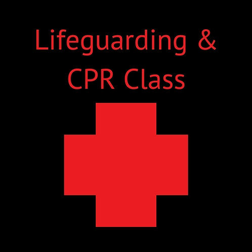 Lifeguarding & CPR/AED Class DEPOSIT