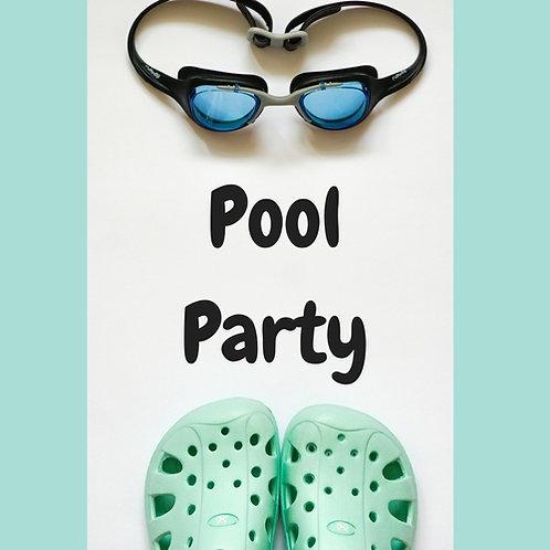 Pool Party Deposit