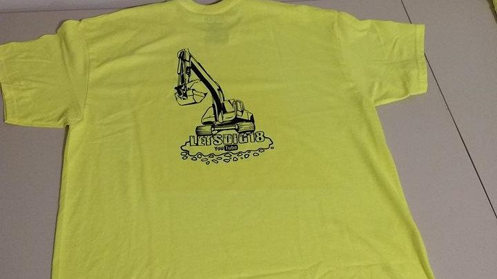 Safety Green T Shirt