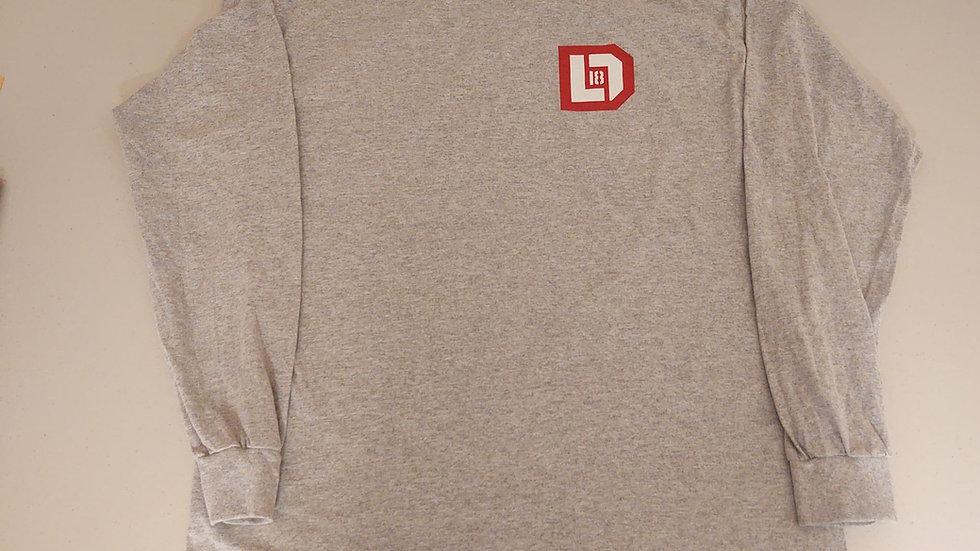 New LD18 Sports Grey Long Sleeve Shirt