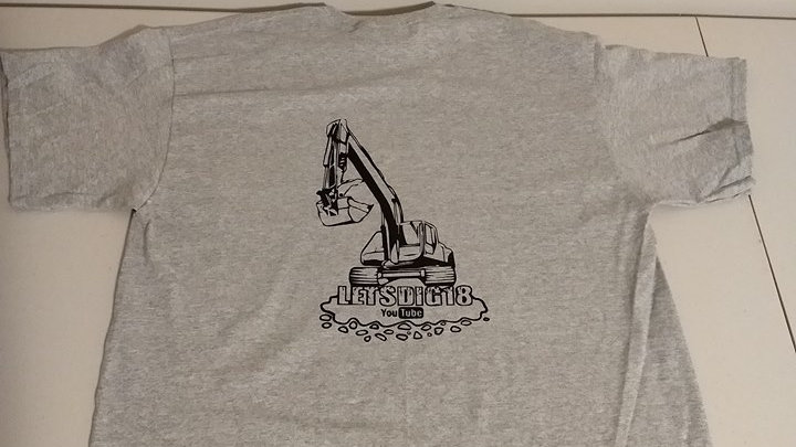 Youth Size Sports Grey T Shirts