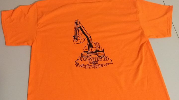 Safety Orange T Shirt