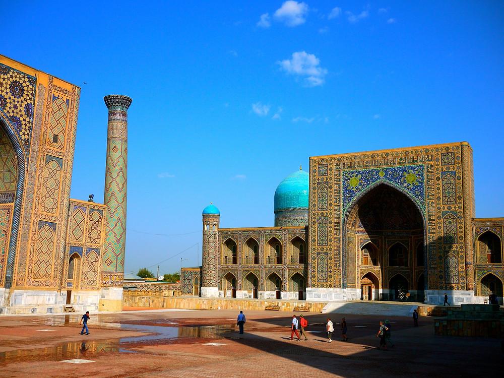 Madrasah in Samarkand