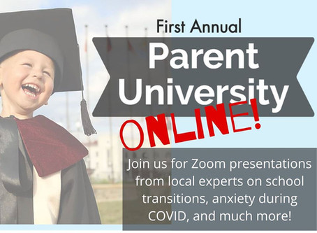 Parent University ONLINE