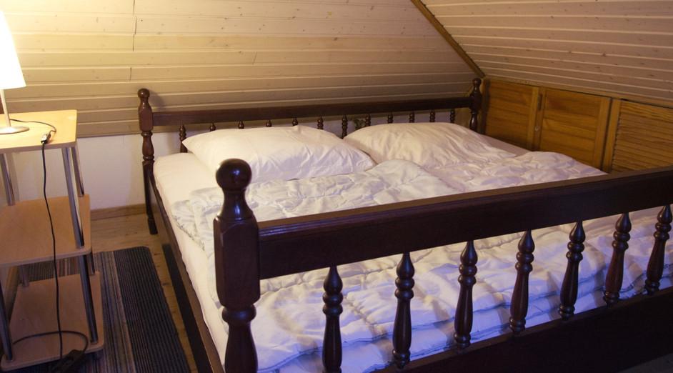 Schlafbereich Doppelbett