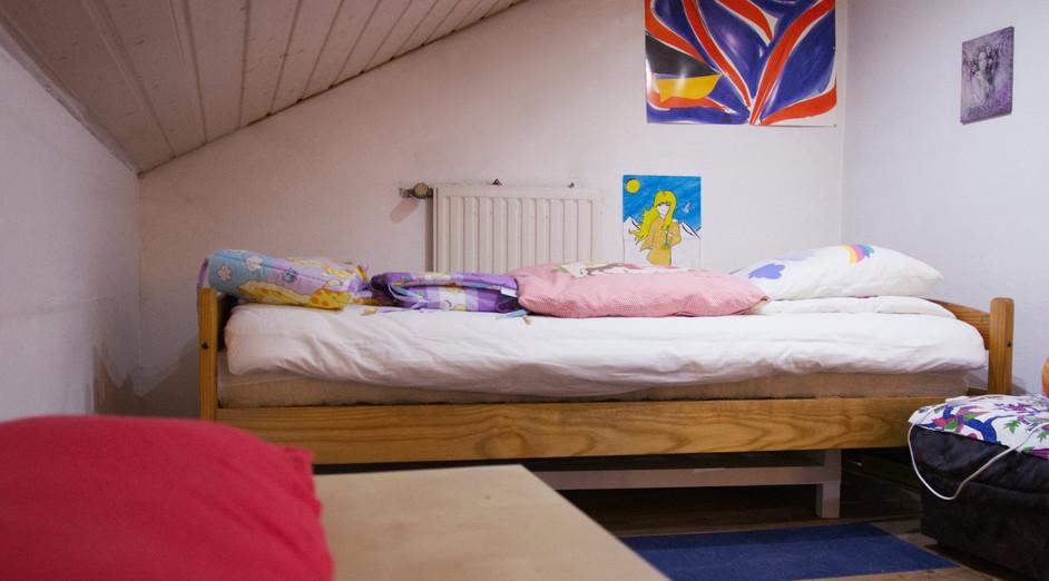 Schlafbereich Einzelbett