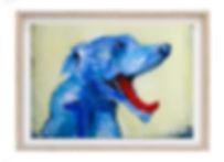 framed print Blue Dog.jpg