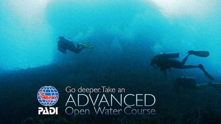 進階開放水域潛水員課程