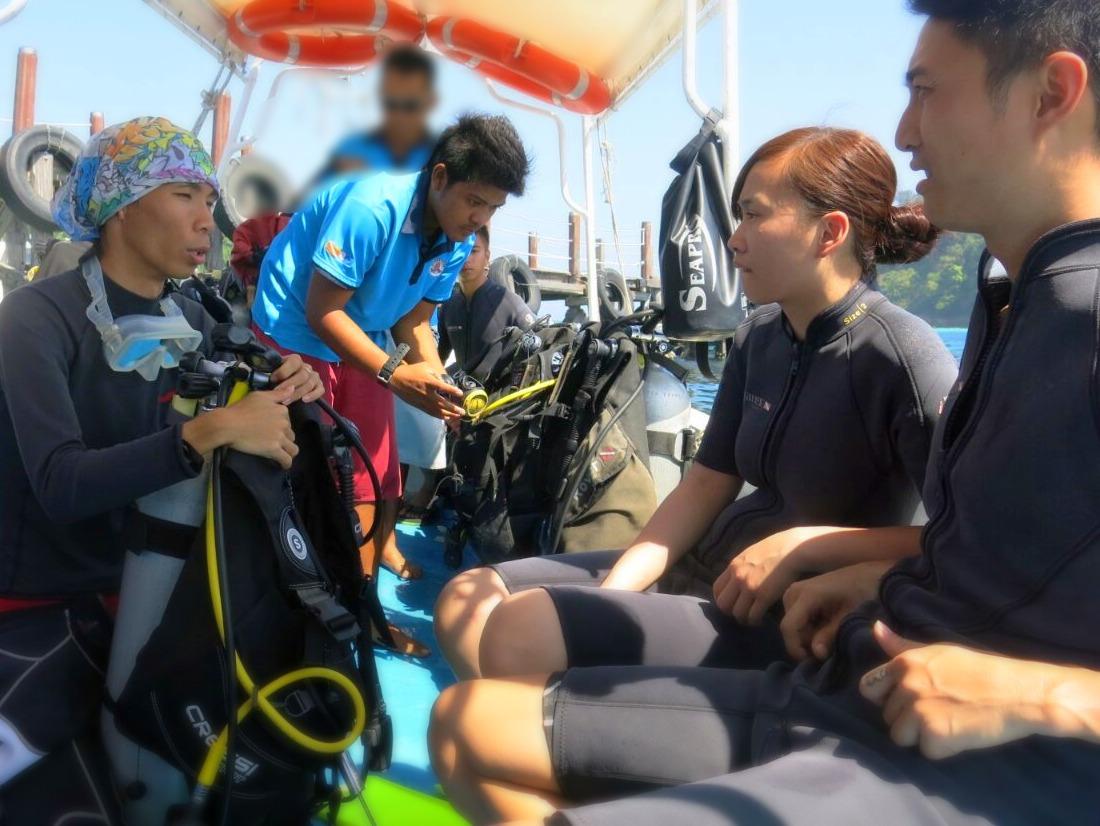 沙巴體驗潛水