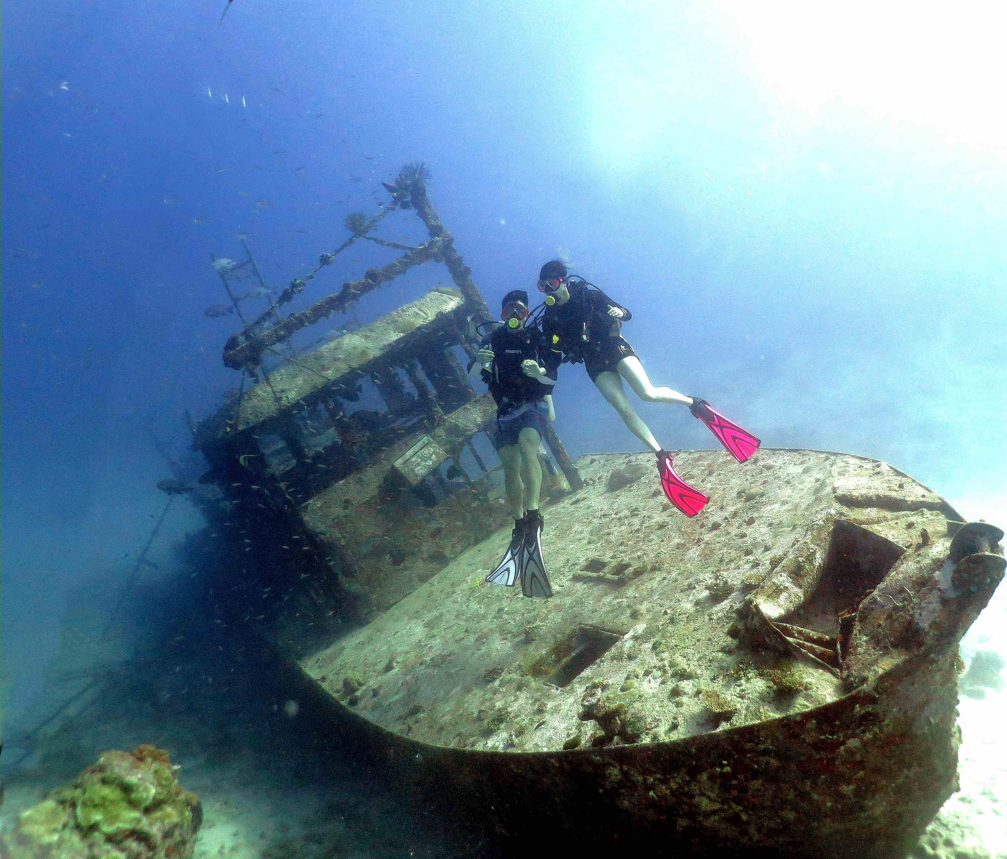 Mataking Wreck Dive