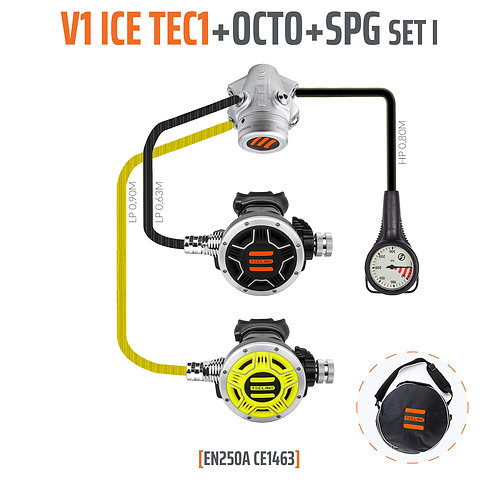 TecLine Regulator V1 ICE + OCTO SET