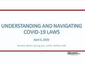 Undertstand and Navigating Covid 19 laws