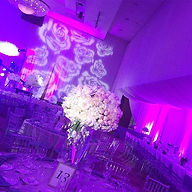 Beautiful event lighting for Elianna's B