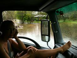 Bessie Barker flood