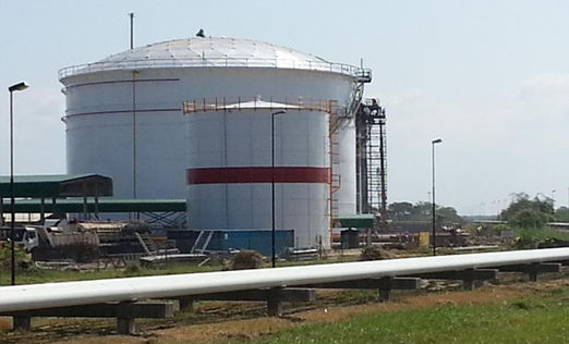 Geodesic Dome, Fir Wate Bolt Storage Tank, Diesel Storage Tank, Internal Floating roof