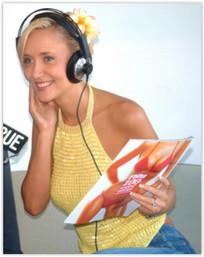 Bessie Barker on radio
