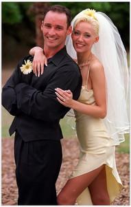 Bessie and Geoff Barker wedding