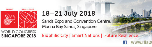 55th IFLA World Congress_Singapore 2018