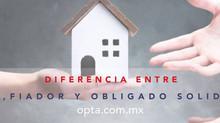 Diferencia entre aval, fiador y obligado solidario