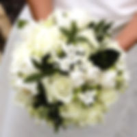 Wedding flowers from Carole Smith Wedding Florist in Hertfordshire.