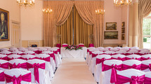 Down Hall Hotel Wedding Set-Up