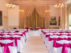 Down Hall Hotel Wedding Set-Up
