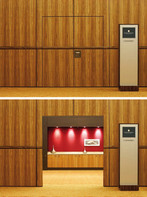 Expo Room Partition with Doors