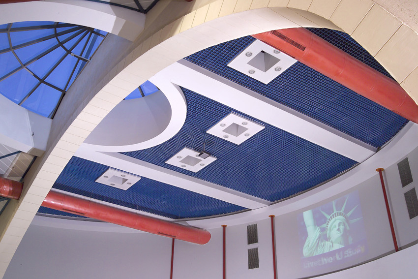 Mall Ceiling with Dome