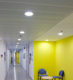 Student Center, Hallway Ceiling