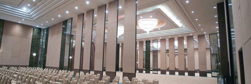 Conference Hall/Reception Separation