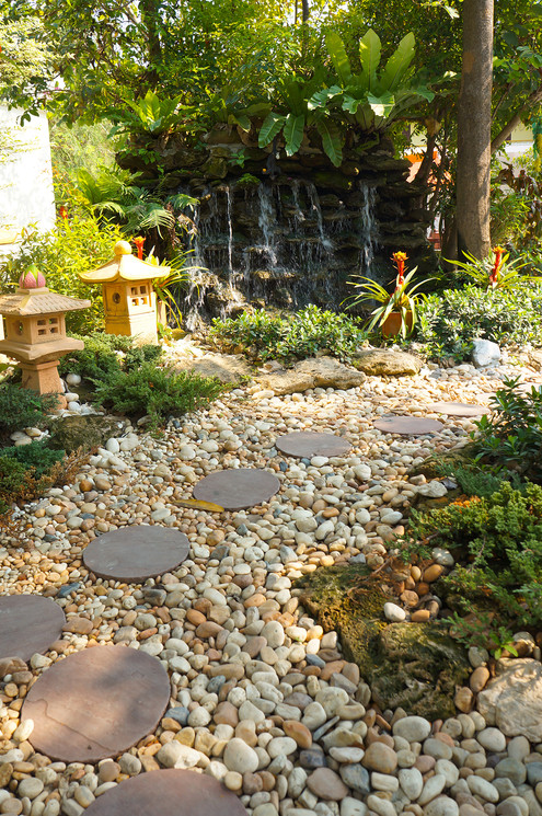 Creek Stones for Natural Landscaping