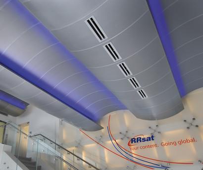RRsat Building, Lobby