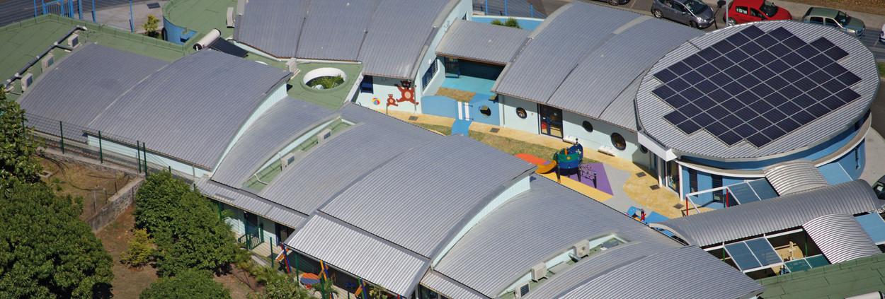 Durable, Soundproof School Roof