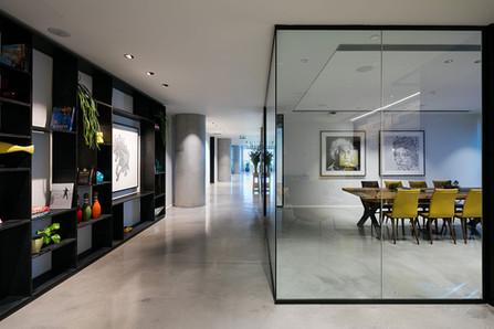 Glass Corner Conference Room Partition.j
