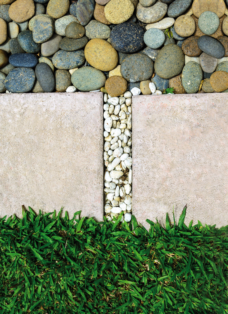 Pebble  Path  Spacing