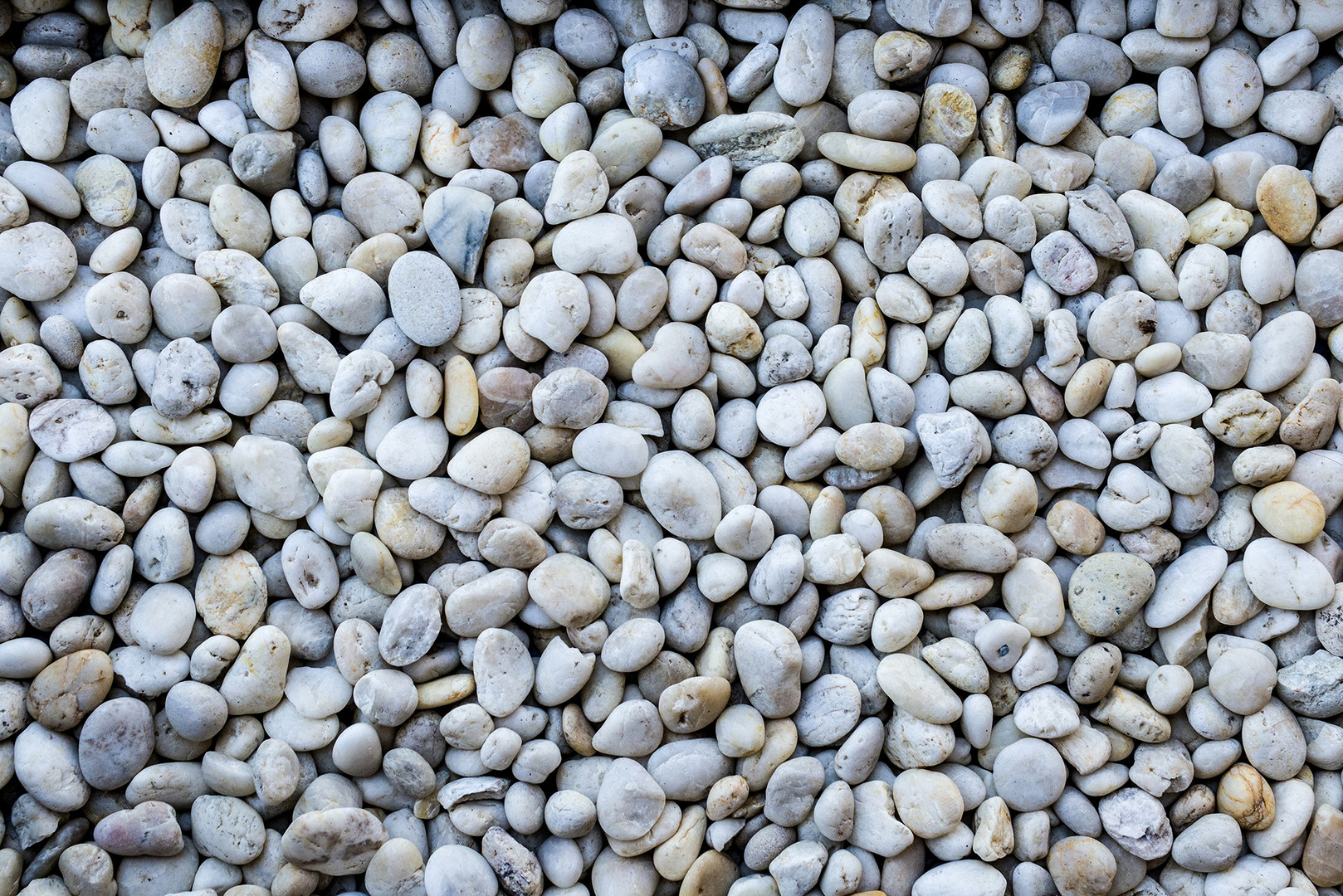 Gray Beach Pebbles