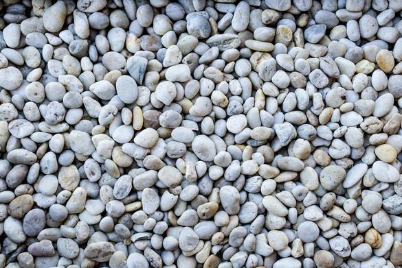 Gray Beach Pebbles