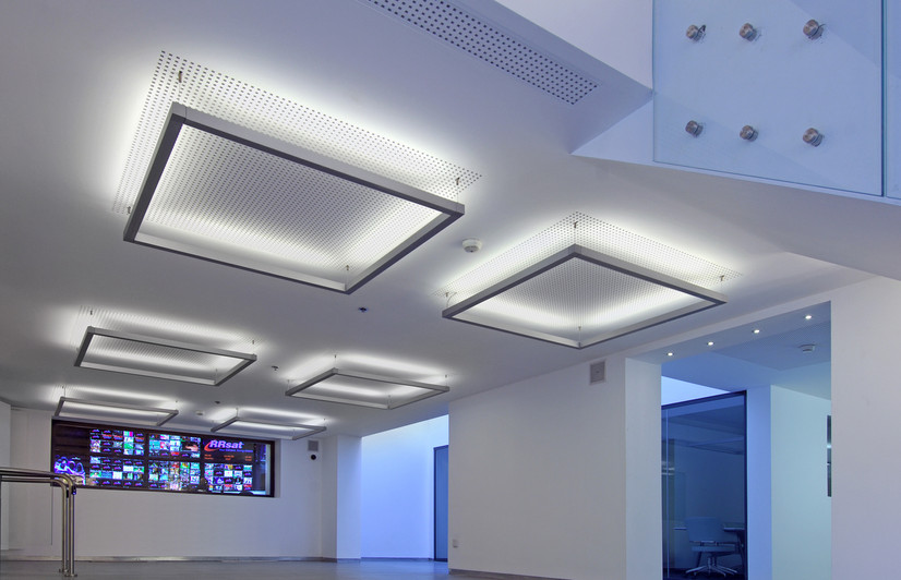RRsat Building, Interior