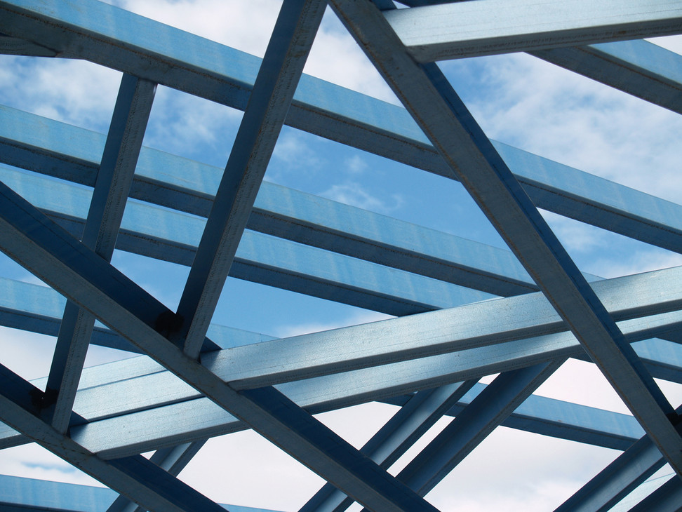 Close Up of Steel Structure