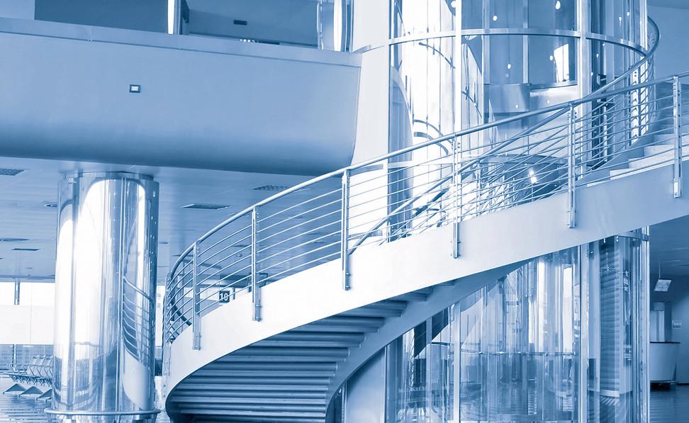 Indoor Spiral Tube Handrail