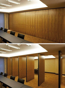 wooden Conference Room Partition