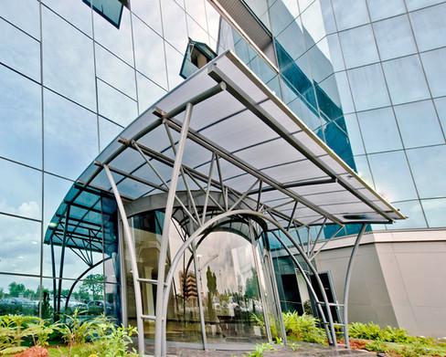 Office Entrance Canopy, Maitama, Abuja