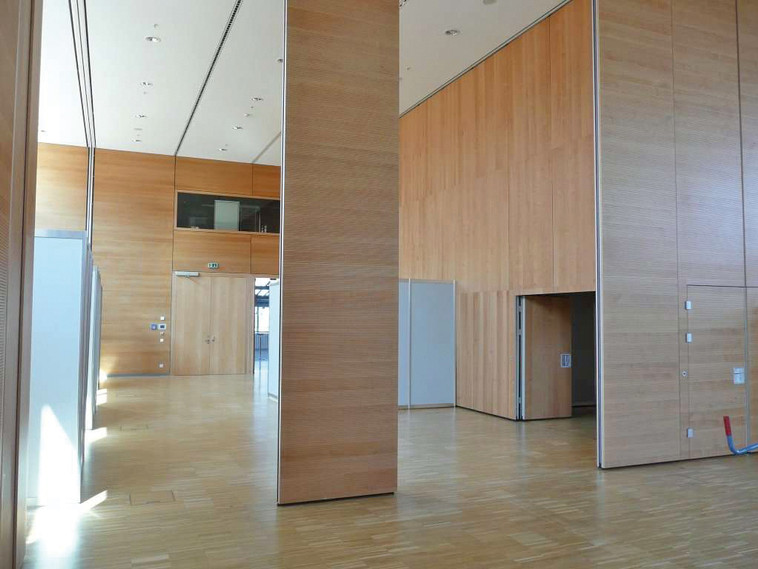 Large space partition