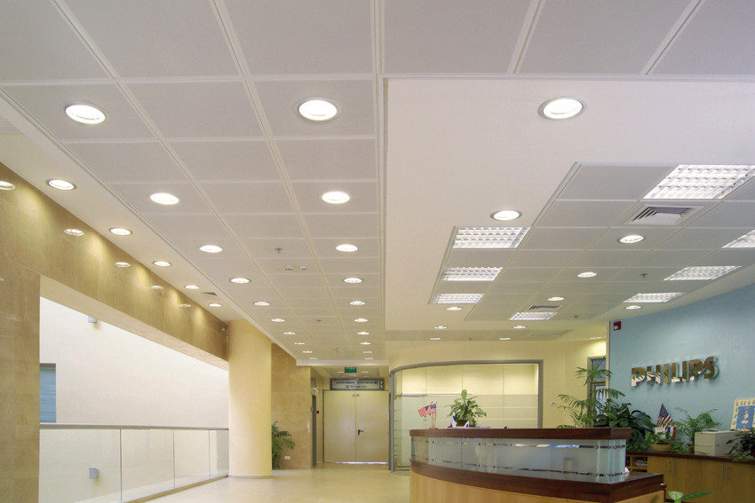 Lobby Ceiling, Philips, USA