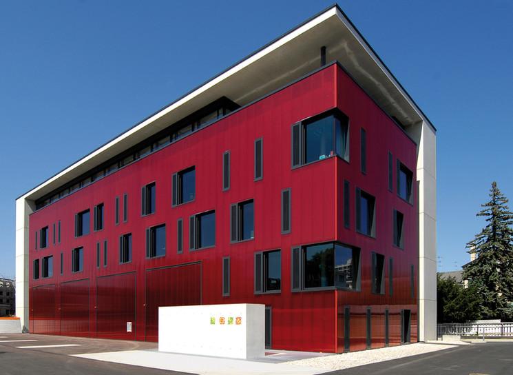 Maison de la Securite, Lancy, Swiss