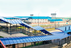 Bus Station, Lagos, front