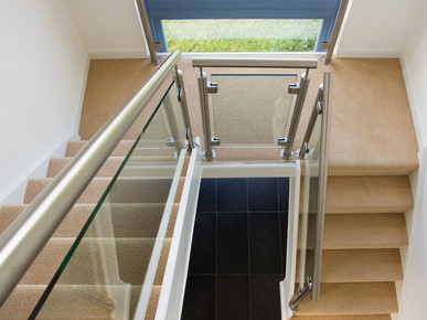 Indoor Tube Handrail and Posts