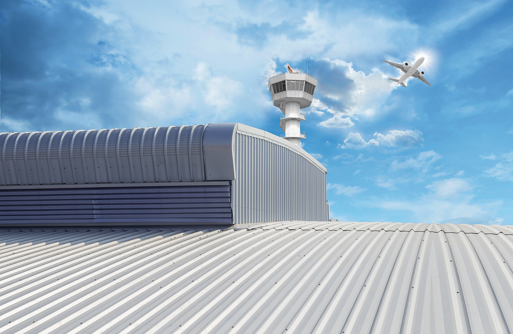 Airport Terminal Roof