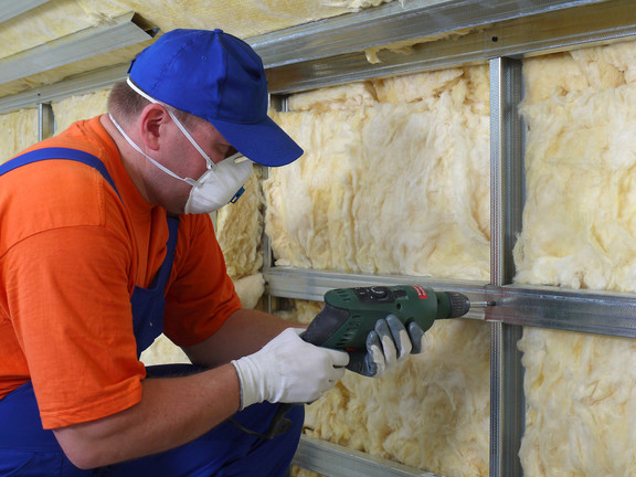 Construction Worker Thermally Insulating